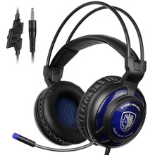 Sades SA-805 2016 New Xbox One/PS4 Gaming Headphones Over Ear Stereo Headset with Microphone for Computer Gamer casque