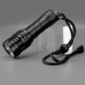 Image 5 - Sofirn yeni SD05 tüplü dalış LED el feneri dalış ışığı Cree XHP50.2 süper parlak 3000lm 21700 lamba manyetik anahtarı 3 modları
