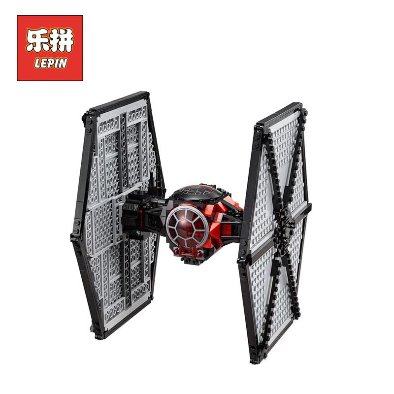 Lepin Stars Series War 05005 Force Awakens Tie Fighter Model Set Building Blocks Bricks DIY Educational Children Toy 75101 Gift building blocks stick diy lepin toy plastic intelligence magic sticks toy creativity educational learningtoys for children gift page 6
