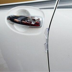 Protección de borde de puerta de coche protector de puerta de coche de Anti-colisión estilismo para automóviles PVC para Renault megane 2 3 captur logan kadjar
