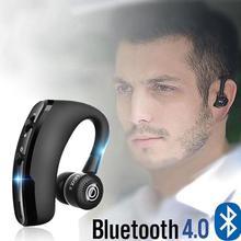 Bluetooth наушники с шумоподавлением, Бизнес Беспроводная bluetooth-гарнитура с микрофоном для водителей, спорта, громкой связи, беспроводная