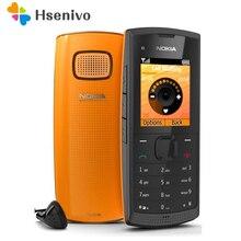 X1-00 Nokia оригинальный разблокирована x1-00 мобильные телефоны gsm бар телефонов один год гарантии Бесплатная доставка