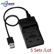 5x ładowarka USB do DMW-BCG10 BCG10PP bateria pasuje DMC ZX1 ZX3 TZ6 TZ7 TZ8 TZ9 TZ10 TZ18 TZ19 TZ20 TZ25 TZ27 TZ30 aparatu Panasonic