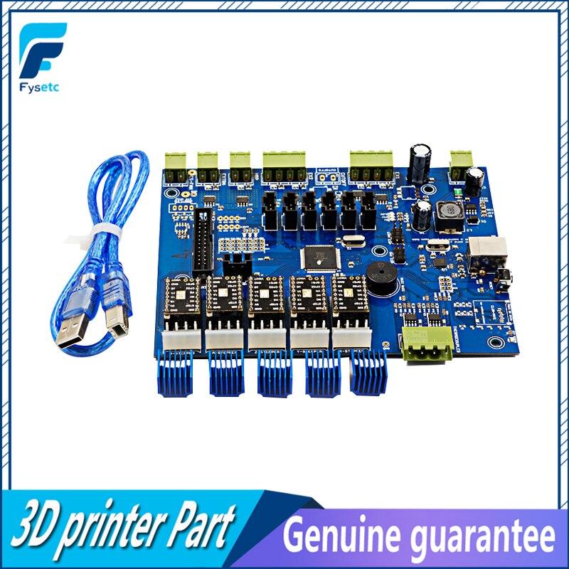 Makerbot Com IC Atmega1280/Atmega 2560 Makerbot Replicator G Poderoso Motorista Board + 5 pcs TMC2100 V1.0 Para Makerbot VS A4988
