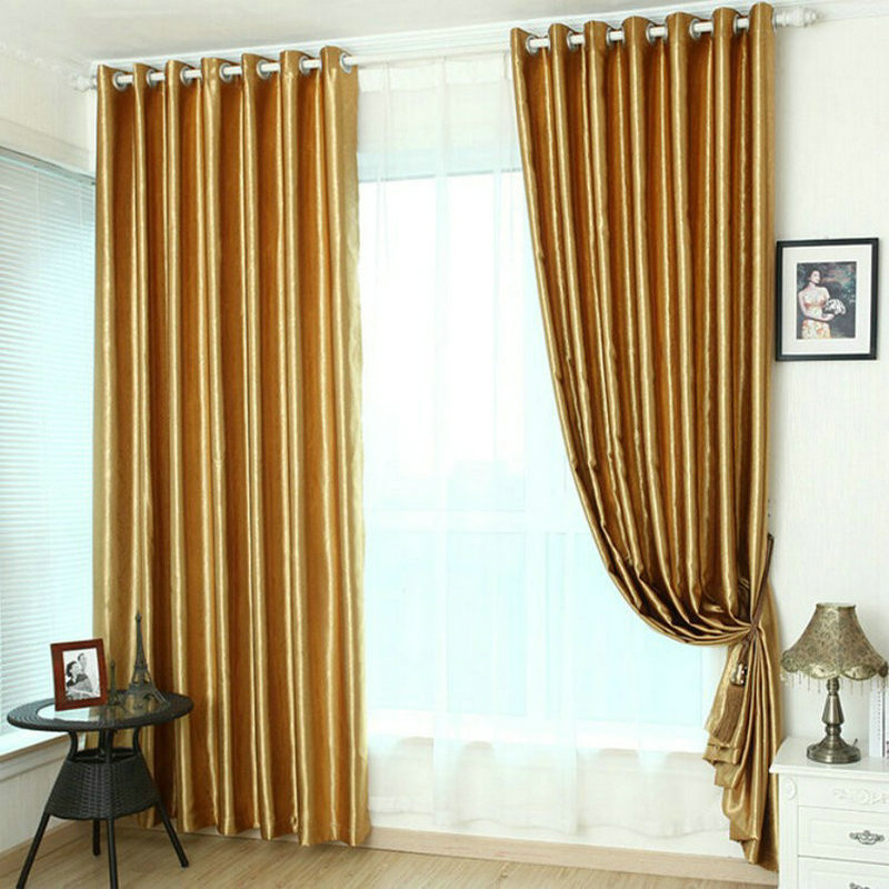 Aliexpress.com : Buy Embossed Roses/short/long Curtains For Living Room/  Bedroom Blackout Curtains Window Drapery Burgundy Golden Solid From  Reliable ...