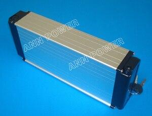 Image 2 - 무료 배송! 24V 36V 48V 전자 자전거 리튬 배터리 케이스 전기 자전거 리튬 이온 배터리 상자 배터리를 포함하지 않습니다