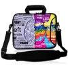 Laptop Shoulder Sleeve Messenger Bag Case With Handle And Extra Side Pocket For 14 15 6