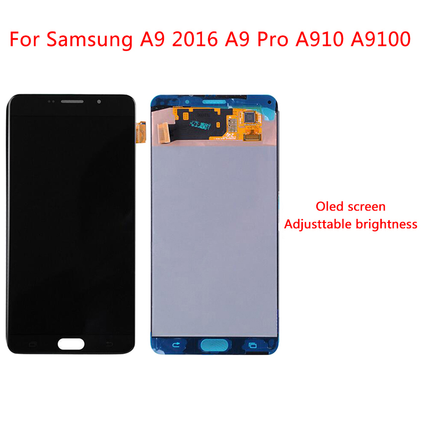 AMOLED For SAMSUNG GALAXY A9100 LCD A9 Pro A9 2016 A910F Display Touch Screen Digitizer Assembly   Replacement For SAMSUNG A910 AMOLED For SAMSUNG GALAXY A9100 LCD A9 Pro A9 2016 A910F Display Touch Screen Digitizer Assembly   Replacement For SAMSUNG A910
