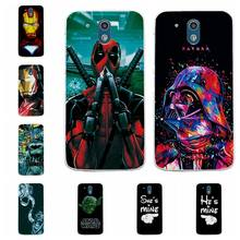 "Charming Deadpool Spiderman Case Coque For HTC Desire 526 526G 326 326G Soft TPU Phone Cases For HTC 526 4.7"" Back Cover Capa(China)"