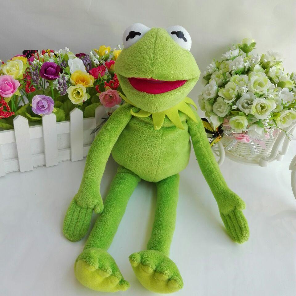 Kermit the Frog TY BEANIE BOOS 1PC 40CM BIG EYE Plush Toys Stuffed animals  KIDS TOYS VALENTINE GIFT Children toys 1a81a52668a