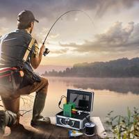 IR 15m 7 inch TFT Underwater Night Vision 1000TVL Fishing Video cable camera Kit Fish Finder Detector Under Water Fish Cam