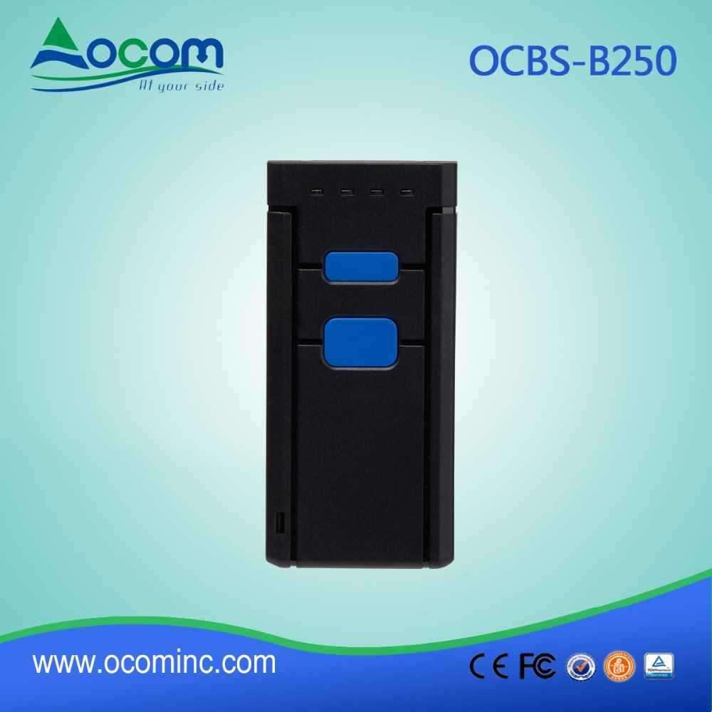 OCBS-B250: Mobile 2D bluetooth Scanner Supporting Most Types of 1D and 2D Barcodes
