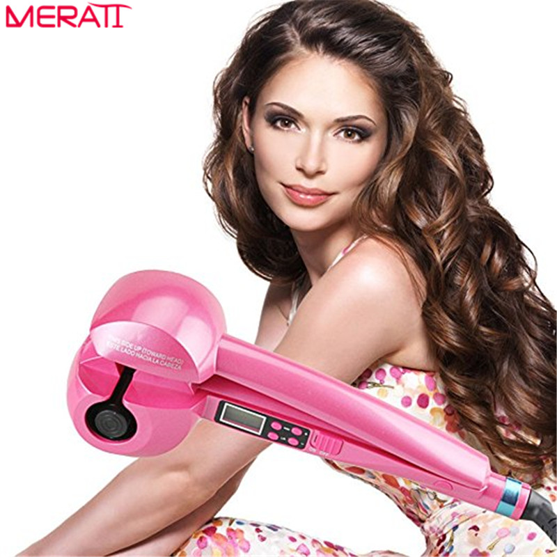 11.11 Automatic Hair Curler Styler Heating Hair Styling Tools Fast Shape Hair Styler For Corrugation Curling Hair Styling Tools 2017 new hot sale professional salon ptc heating white color ceramic negative ions steam automatic hair curler hair style tools