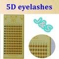 Alta Qualidade J & S cabelo vison cílios 5D premade fãs indivíduo extensão dos cílios falsos Grosso Falso Eye lash 8 MM a 14 MM