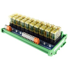 цена на Relay single-group module 10-way compatible NPN/PNP signal output PLC driver board control board
