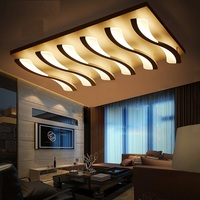 Art Acrylic LED Ceiling Light Home Living Room Bedroom Study & Office & Commercial Lighting Ceiling lamp 110-240V