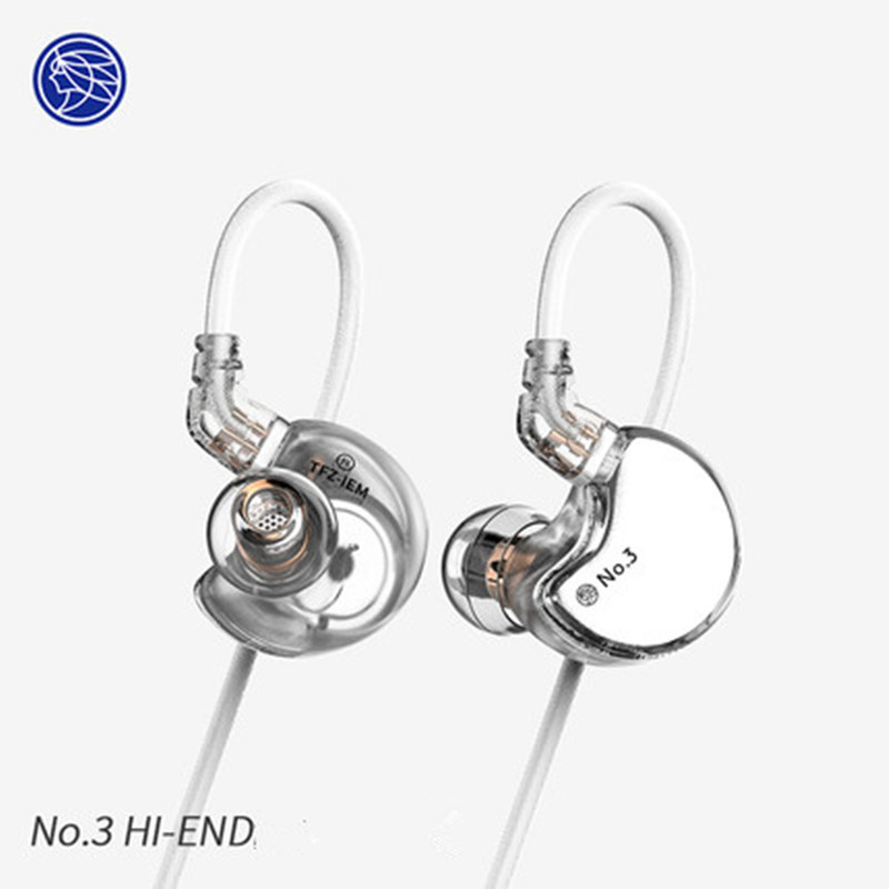 TFZ NO 3 Third Generation Unit HiFi In Ear Monitor Earphone Dynamic Driver IEM with 2pin