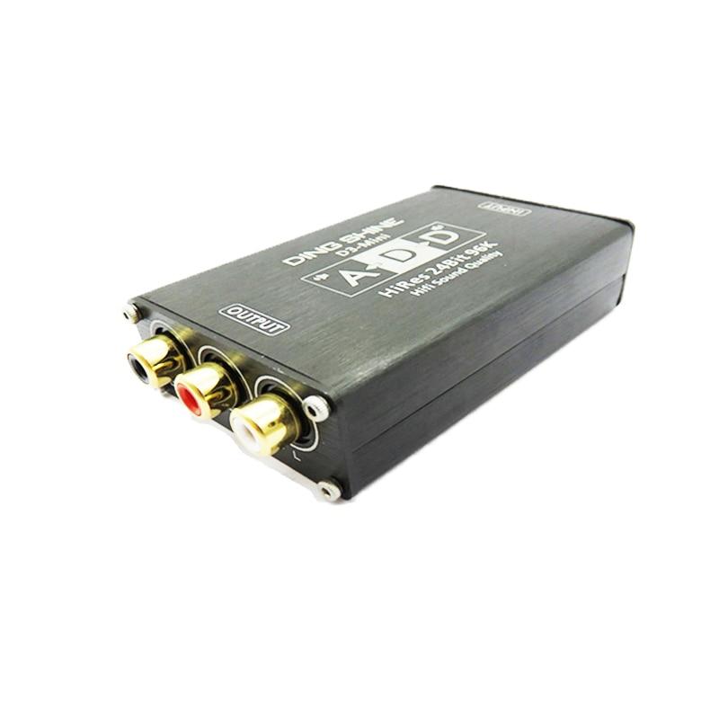 D3-Mini WM8741 Amplifier DAC Decoder USB Sound Card HiRes Fever Decoder Sound Card pcm2704 usb sound card dac decoder module usb input coaxial optical fever hifi sound decoder