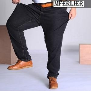 Image 4 - MÙA HÈ THU Quần jeans nam Plus Size Lớn 9XL 10XL quần lớn Quần Jean 48 50 52 Độ Đàn Hồi 8XL cao cấp quần công sở nam 150KG