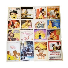 Buy blank business cards and get free shipping on aliexpress 32 pcspack business cards the movie star poster drawing post card set christmas card reheart Choice Image