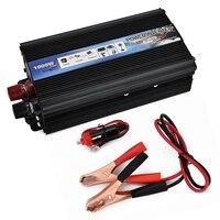 Portable Car Inverter AC 220/110V 1000W Car Charger Power Inverter Converter 12 v to 220v Universal Socket Power Inverter