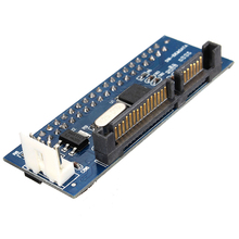 цена на Converter 40-Pin IDE Female SATA to 22-Pin male adapter PATA SATA Card