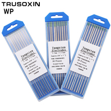 10pcs red color code 2.0 * 150  Thorium tungsten electrode head tungsten needle/rod for the welding machine with TIG function цена 2017