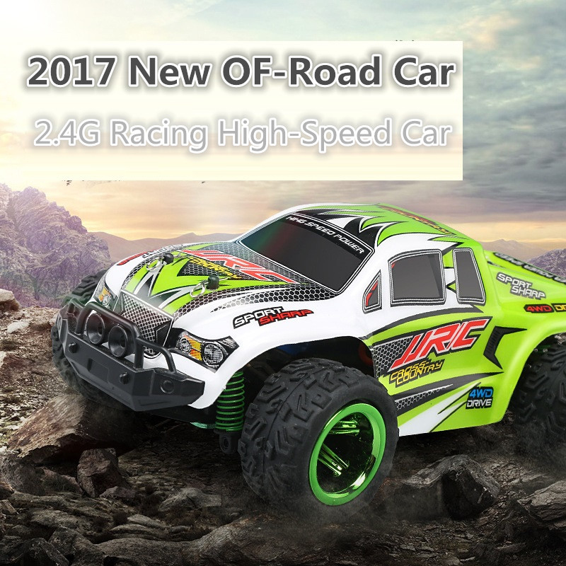 все цены на 2017 crazy toy Q-35 electric RC toy cars 1:26 30km/H RC Truck Monsters Off-road Vehicle climbing Car RTR VS A979 Kids toys cars онлайн