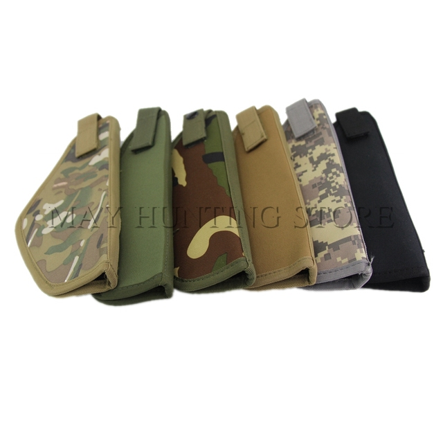 US $1 56 48% OFF|Hunting Molle Waist Belt Gun Holster LCP Small Universal  Pistol Gun Holster Right Hand for Airsoft Shooting-in Holsters from Sports  &