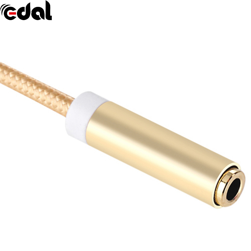 Type C USB 3.1 to 3.5 Earphone cable Adapter usb 3.1 Type-C male to 3.5mm AUX audio female Jack for Letv 2 2pro max2 letv2