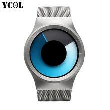 YCOL Brand New 2016 AMST Watches Women Men Casual Quartz Watch Watch xfcs Men Stainless Steel AR Watch Relogio Masculino Nomo