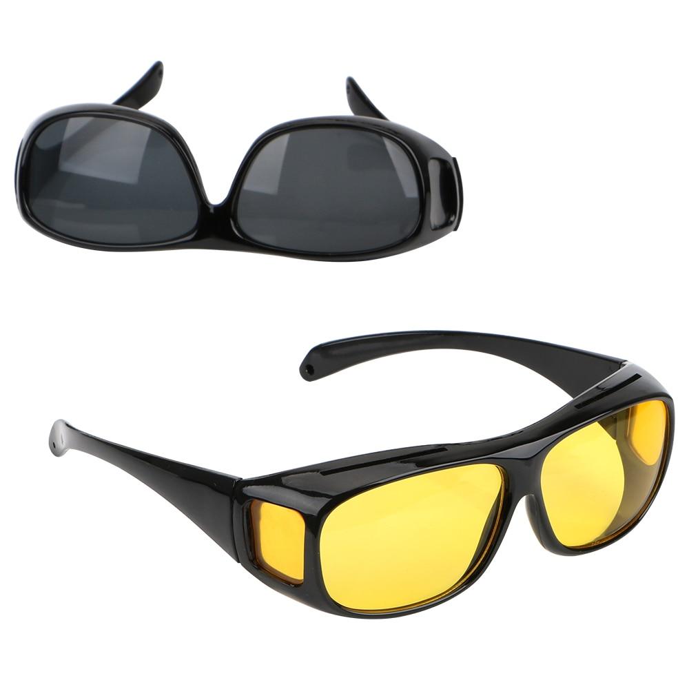 Car Night Vision Goggles Polarized Sunglasses Unisex HD Vision Sun Glasses Eyewear UV Protection Car Driving Glasses 2016 new fashion sunglasses women brand designer sun glasses vintage eyewear
