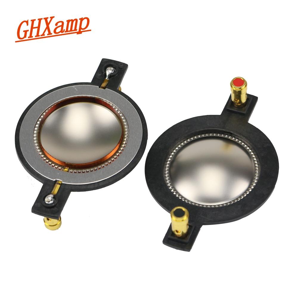 GHXAMP 44.5 Core Treble Voice Coil Titanium Diaphragm P-Audio440-8 450-S Treble Voice Coil 8 OHM Speaker Repair 1 Pairs