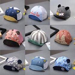 Модная шапка для маленьких мальчиков и девочек, мягкая бейсболка, детские летние шапки для новорожденных мальчиков, берет