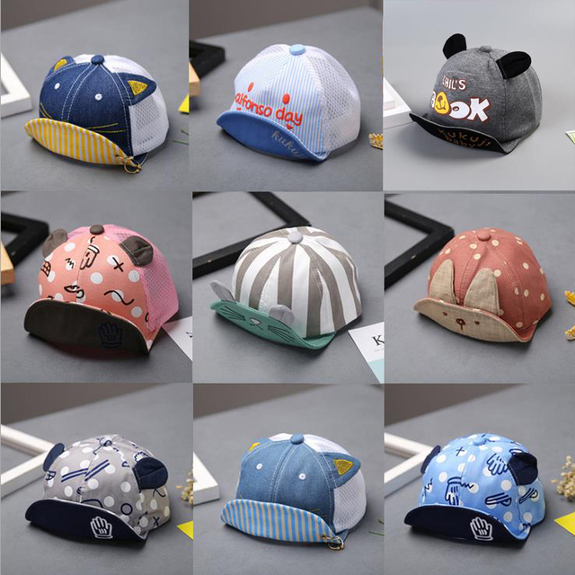 5aa6d12551c78 Fashion Baby Boys Girls Hat Soft Baseball Cap Baby Summer Hats Newborn Baby  Boy Beret