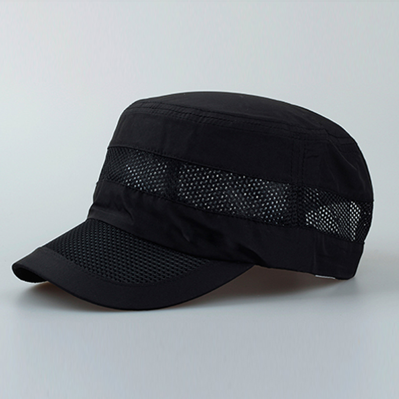 New 2018 Men Summer Outdoor Sun Hat Climbing Fishing Breathable Hats Male  Round Visor Foldable Solid Casual Baseball Caps JS474-in Sun Hats from  Apparel ... e7772b18109c