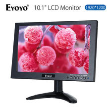 "EYOYO HD 1920×1200 VGA AV De Áudio E Vídeo HDMI 10 ""IPS Tela LED LCD Monitor para Câmera de CCTV Casa DVD PC Gaming"