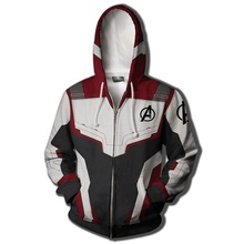 Avengers Endgame Hoodie Custom Sweatshirt Jacket Plus size Advanced Tech Hoodie