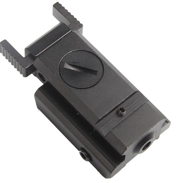 Red Dot Tactical Laser Sight Low Profile 532nm Scope Fit 20mm Weaver Rail Mount for Pistol Rifle Gun RL3-0005-12