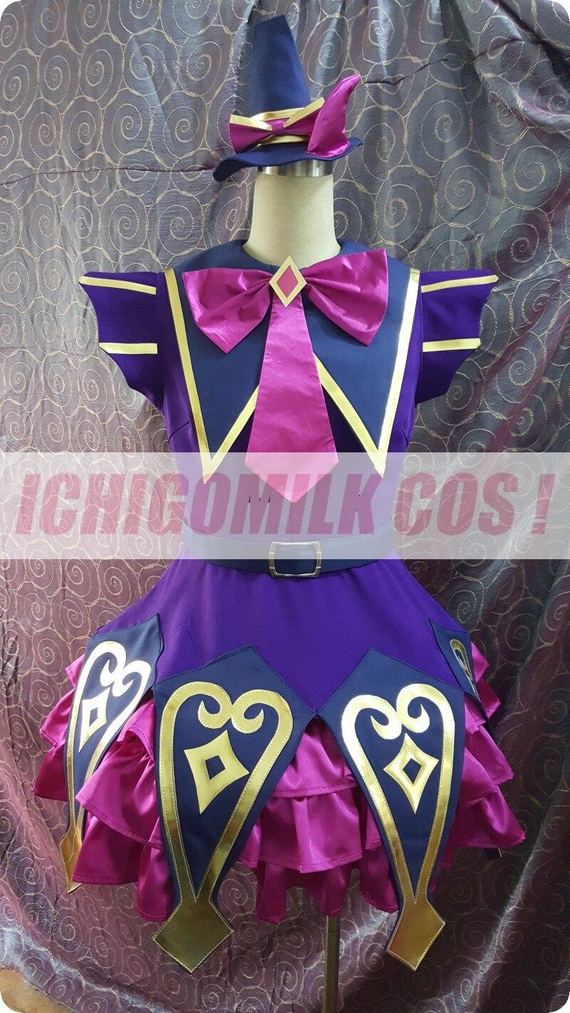 Costume de Cosplay PriPara Aroma Kurosu Halloween tenue uniforme de noël robe de fête + coiffure + gants + couvre-chaussures + chaussettes