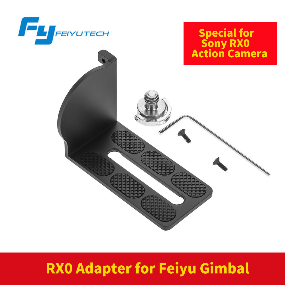 FeiyuTech Feiyu RX0 Replacement Splint Adapter Plate Mount for Sony RX0 Action Camera for G5 WG2 Gimbal