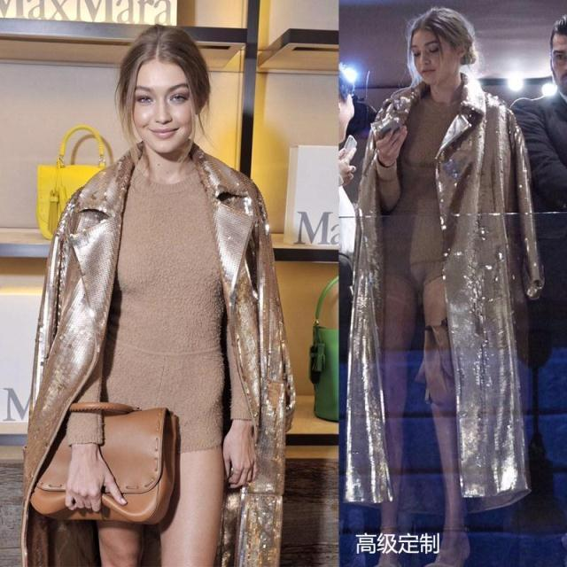 Magic Womens Sexy Sequins   Trench   Long Coat Party Clothes Outwear Overcoat Female