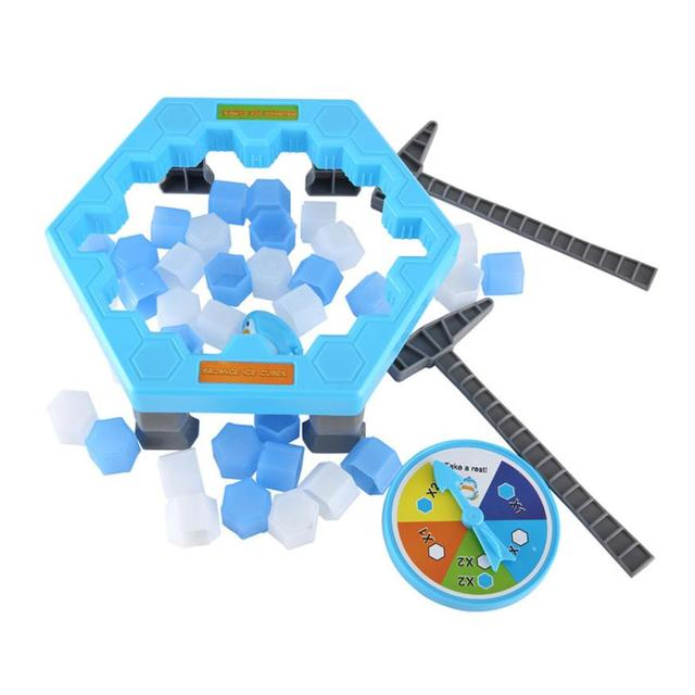 Hot Kids Toy Penguin Trap Activate Funny Game Interactive Ice Breaking Table Penguin Trap Entertainment toys for children