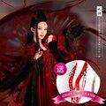 Rojo YaoShen Diosa de Las Mujeres Hanfu Traje Traje De Boda para TV juego de Viaje de la Flor Hua QianGu También tienen del Cabrito tamaño