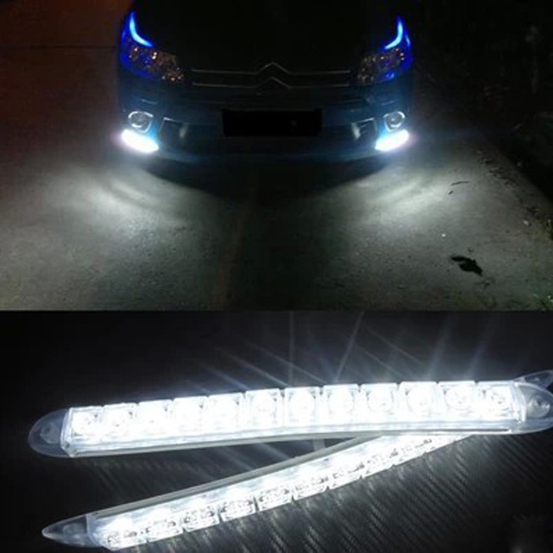 IZTOSS High-power Silicone Daytime Running Lights Anti-collision Waterproof Soft LED Working Lamp