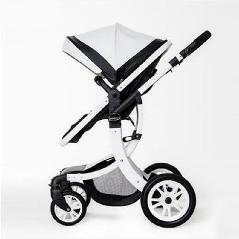 aimile baby stroller 2 in1 stroller four seasons russia free shipping baby stroller folding baby child four seasons general newborn stroller