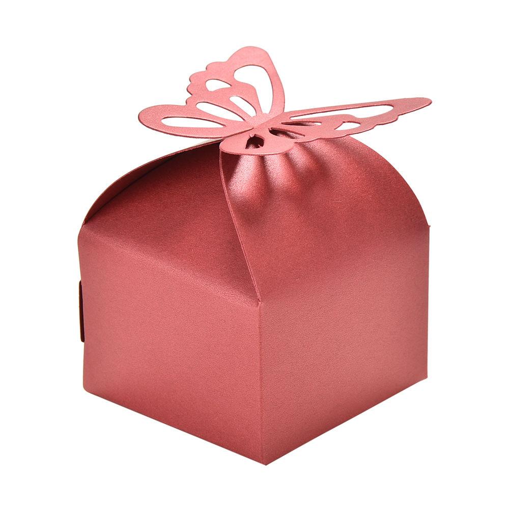≧10 unids/set mariposa caja de caramelo DIY partido decoración de ...