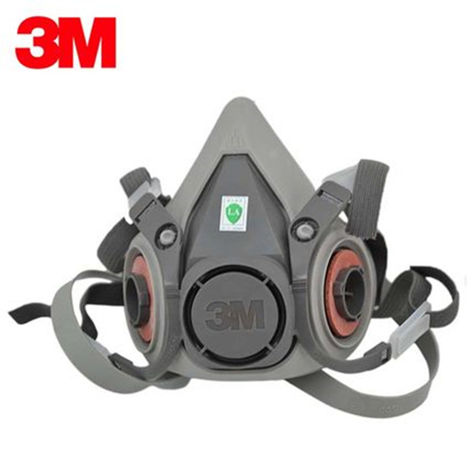 3m 6200 half mask for use with 6000 series cartridges face piece