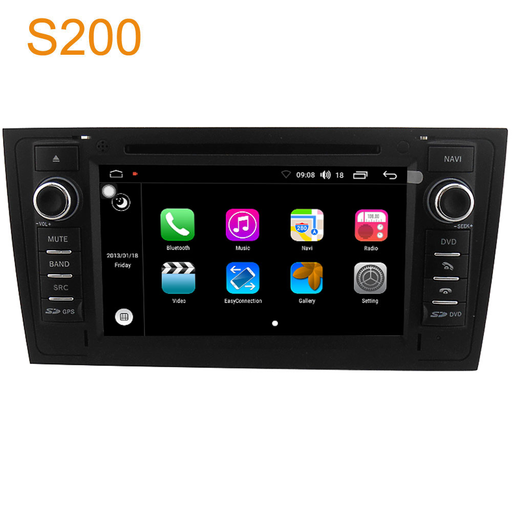 Winca S200 Android 8.0 PX5 Octa 8-Core CPU 32GB Rom Car DVD Radio GPS Navigation Head Unit for Audi A6 1997 – 2004