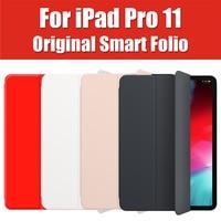 MRX72FE/A 2018 11 inch Original Style Smart Folio For iPad Pro 11 Case Folio Magnetic Flip Cover Leather